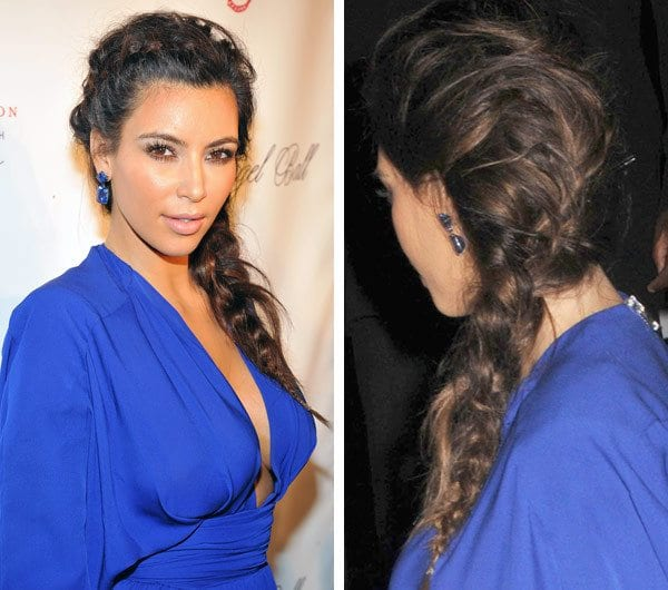 What-to-Wear-with-Braids 19 Cute Ways to Wear Earrings with Long Hairs