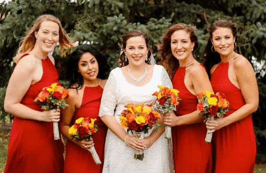 colors-to-wear-on-a-fall-wedding Women's Fall Colors - 15 Colors to Wear in Fall for Women