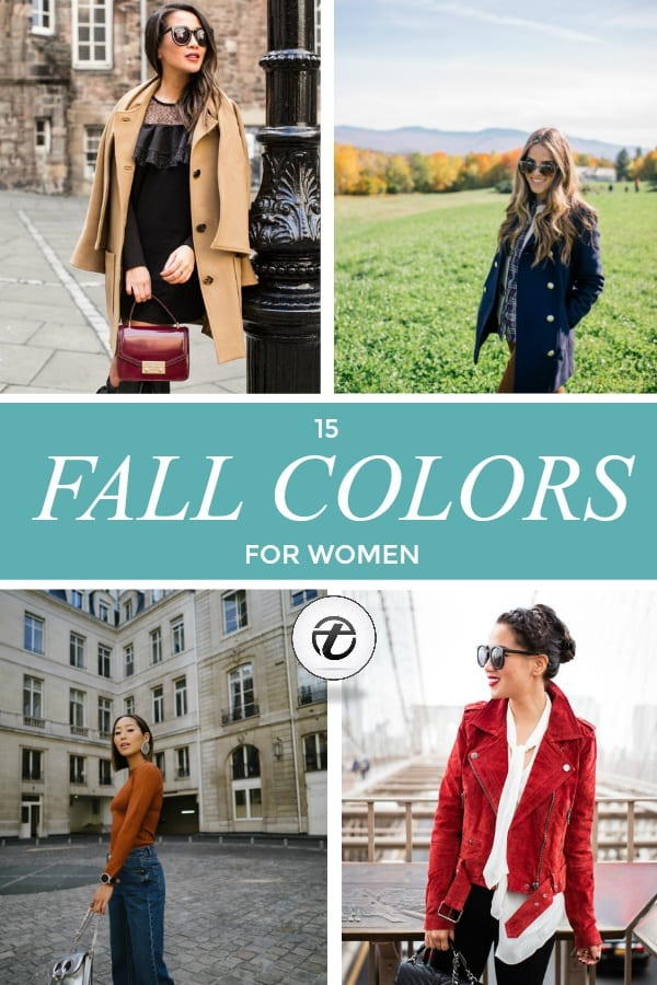 fall-colors Women's Fall Colors - 15 Colors to Wear in Fall for Women