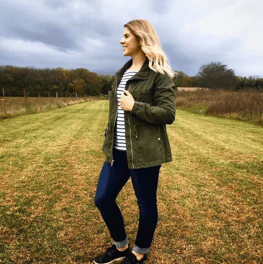 fall-stripe-outfits Women's Fall Colors - 15 Colors to Wear in Fall for Women