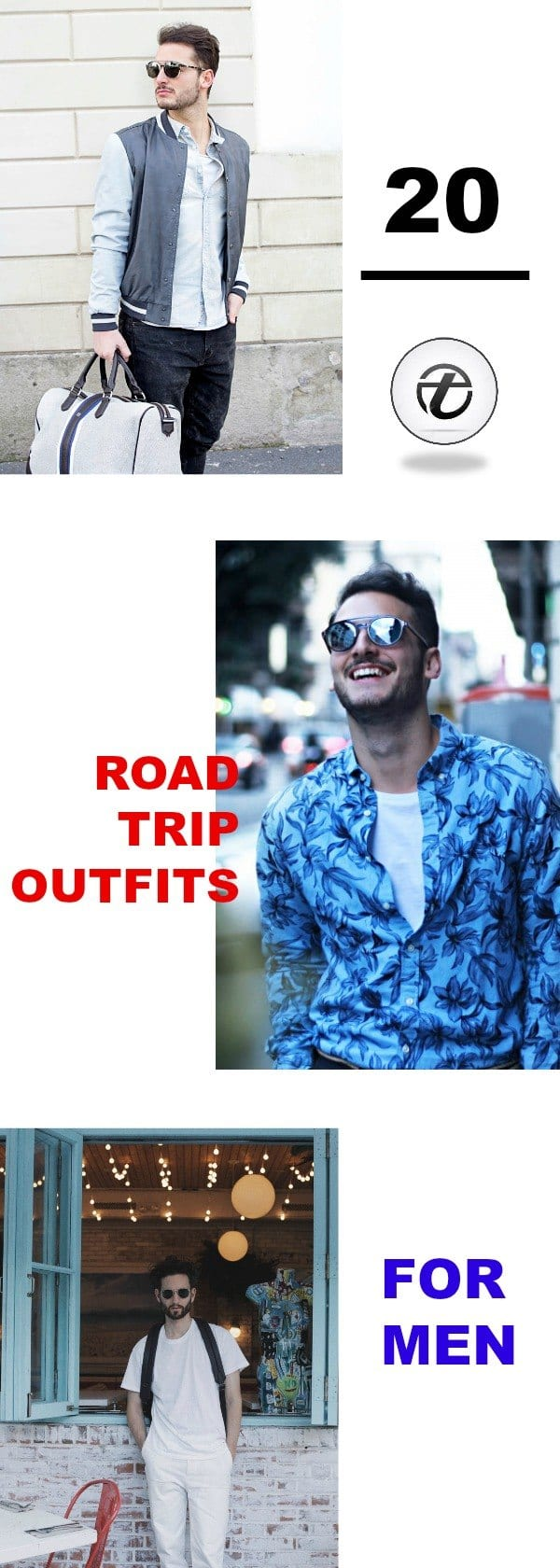 roadtrips1 Men Road Trip Outfits- 20 Ideas What to Wear for a Road Trip