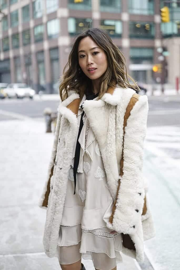 sh16-684x1024 Shearling Jacket Outfits - 22 Ways to Wear Shearling Jacket