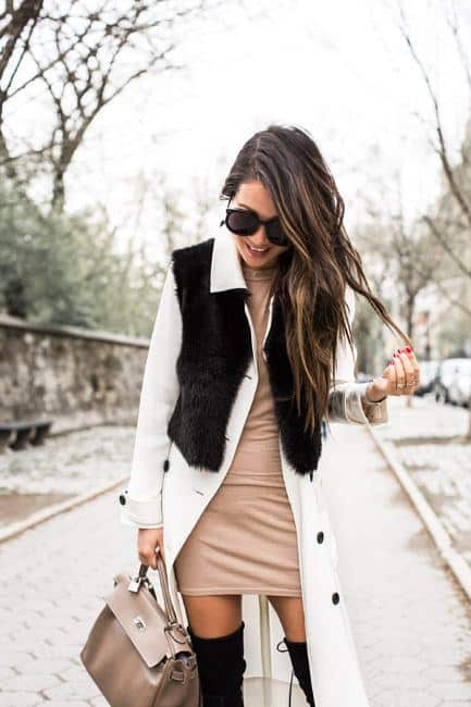 sh9 Shearling Jacket Outfits - 22 Ways to Wear Shearling Jacket