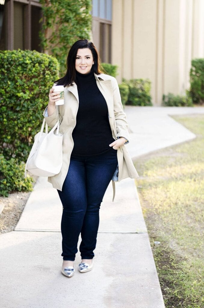 Women Turtleneck Outfits-23 Ideas How To Style a Turtleneck