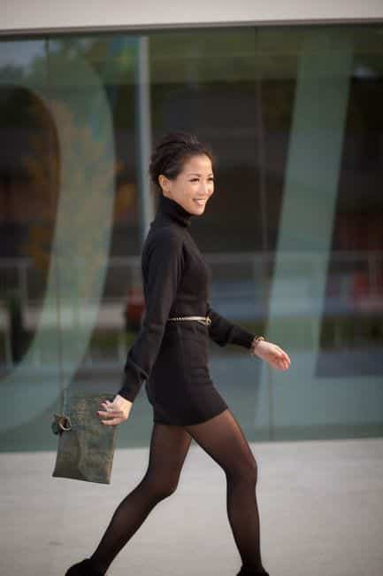 tt19 Women Turtleneck Outfits-23 Ideas How To Style a Turtleneck