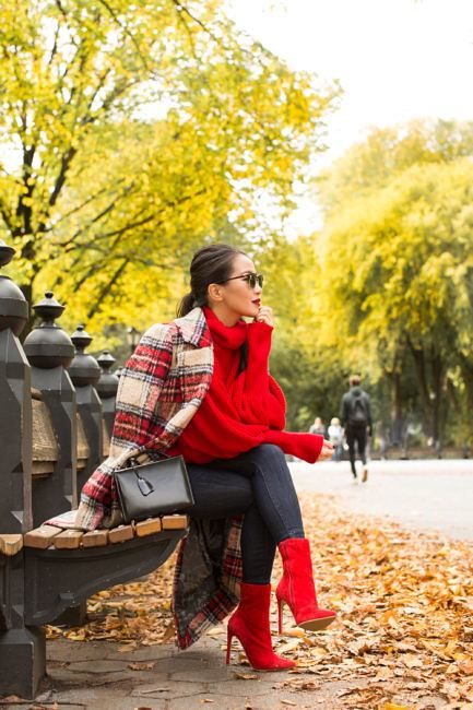 tt20 Women Turtleneck Outfits-23 Ideas How To Style a Turtleneck