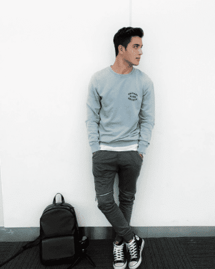 Casual-Pastel-Ensemble Men Pastel Outfits- 23 Ways to Wear Pastel Outfits for Guys