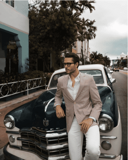 Create-a-Vintage-Look-with-Pastel-Pallete Men Pastel Outfits- 23 Ways to Wear Pastel Outfits for Guys