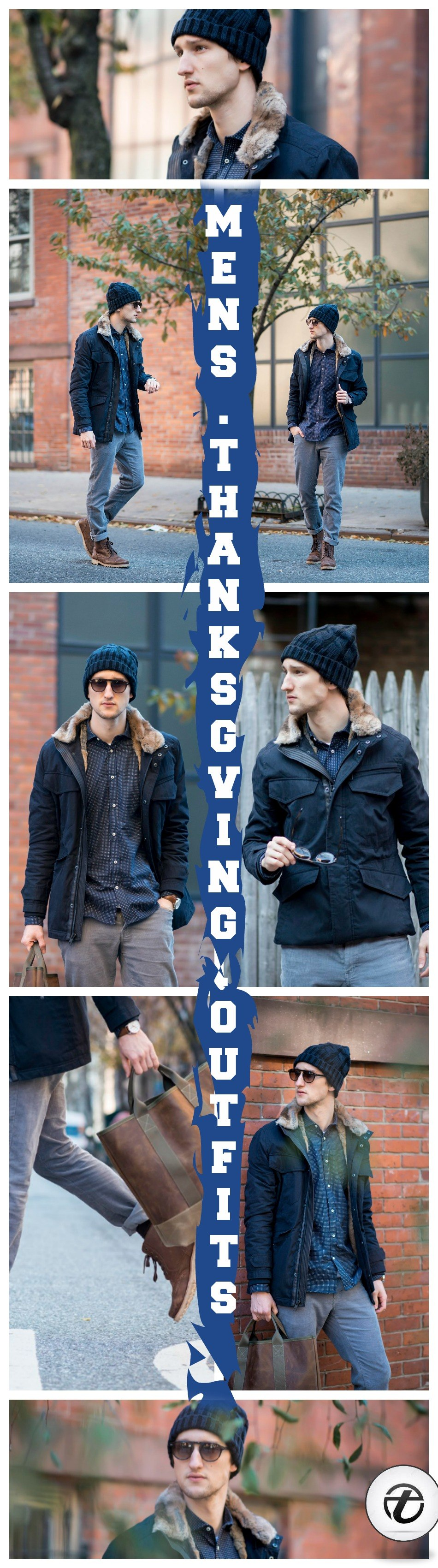 MENS-THANKSGIVING-OUTFITS 2018 Men's Thanksgiving Outfits-30 Ways to Dress on Thanksgiving