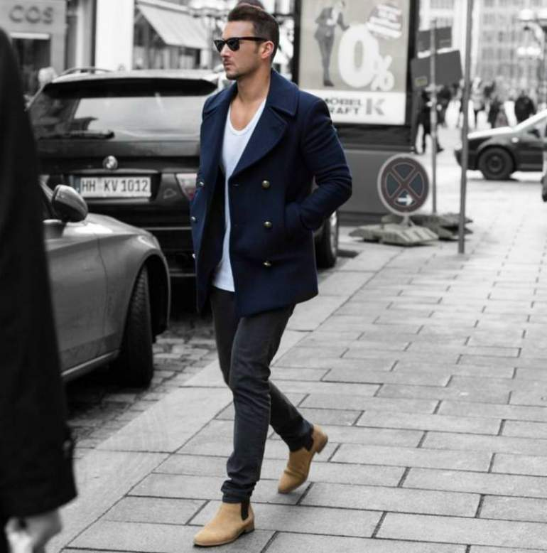 Men-Peacoat-Outfit19 Men Peacoat Outfits – 20 Ways to Wear a Peacoats for Guys