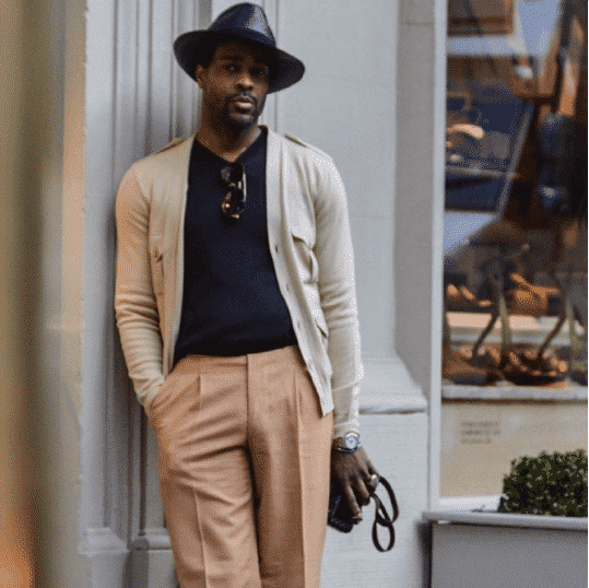 Pastel-Colors-for-Dark-Skin-Tone Men Pastel Outfits- 23 Ways to Wear Pastel Outfits for Guys