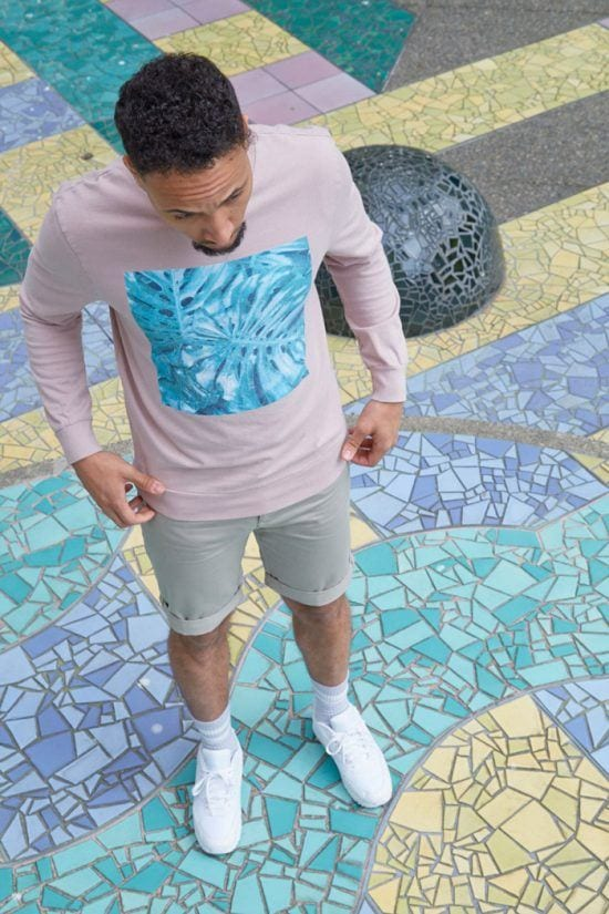 Pastel-Colors-in-Athleisure Men Pastel Outfits- 23 Ways to Wear Pastel Outfits for Guys