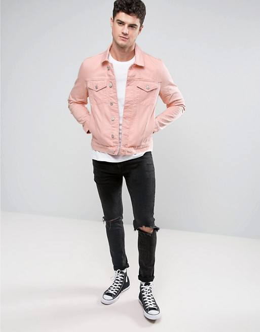 Pastel-Denim-for-Skinny-Guys Men Pastel Outfits- 23 Ways to Wear Pastel Outfits for Guys