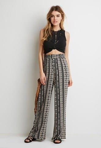 Skinny-Girls-Boho-Pants-Attire How to Wear Hippie Pants for Women - 25 Outfit Ideas