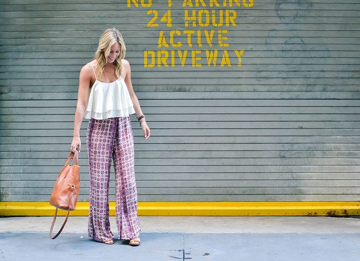 Spring-Style-Hippie-Pants- How to Wear Hippie Pants for Women - 25 Outfit Ideas