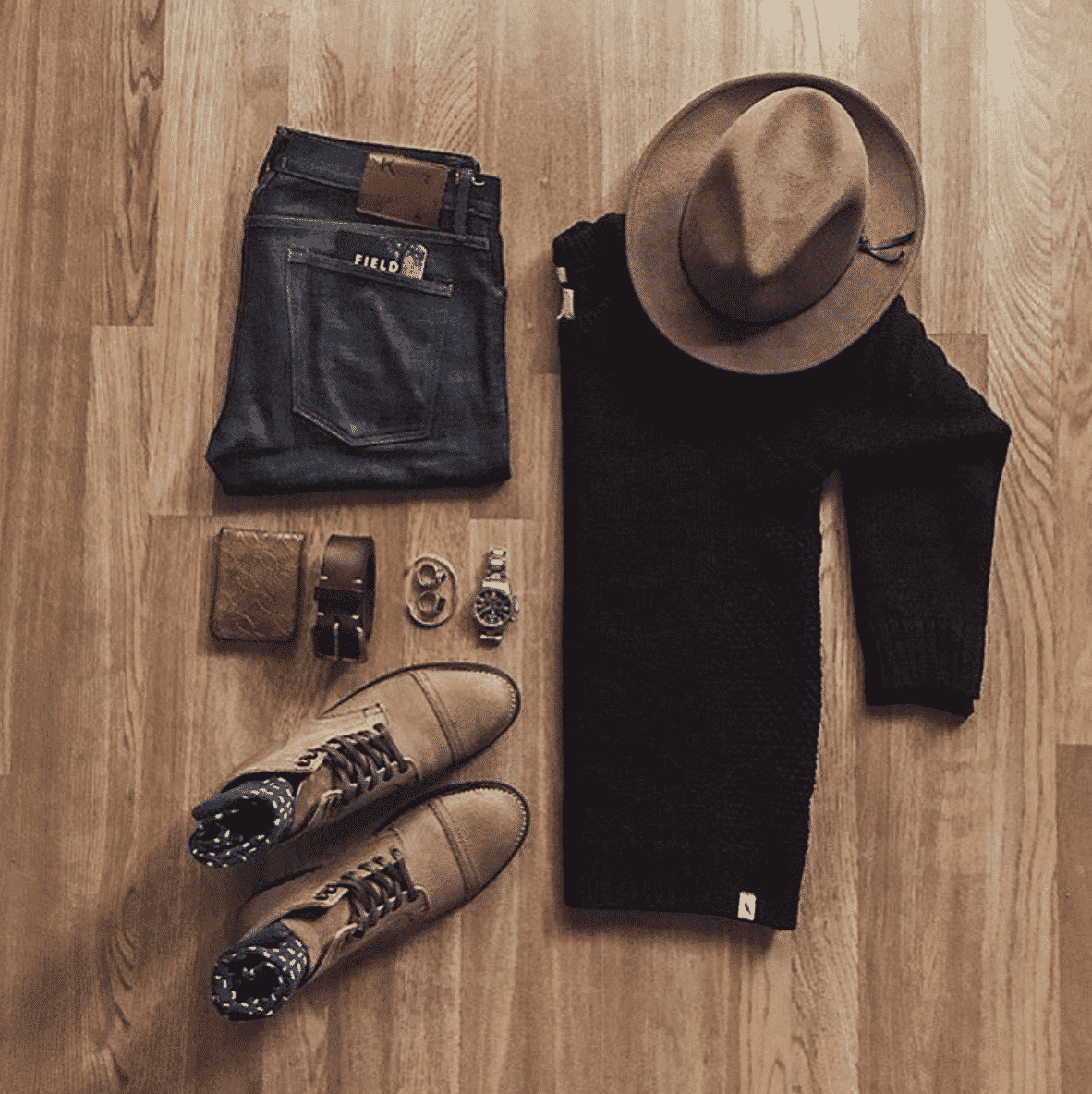 dope-outfits-for-men Men Outfits with Blue Jeans-27 Ways to Style Guys Blue Jeans