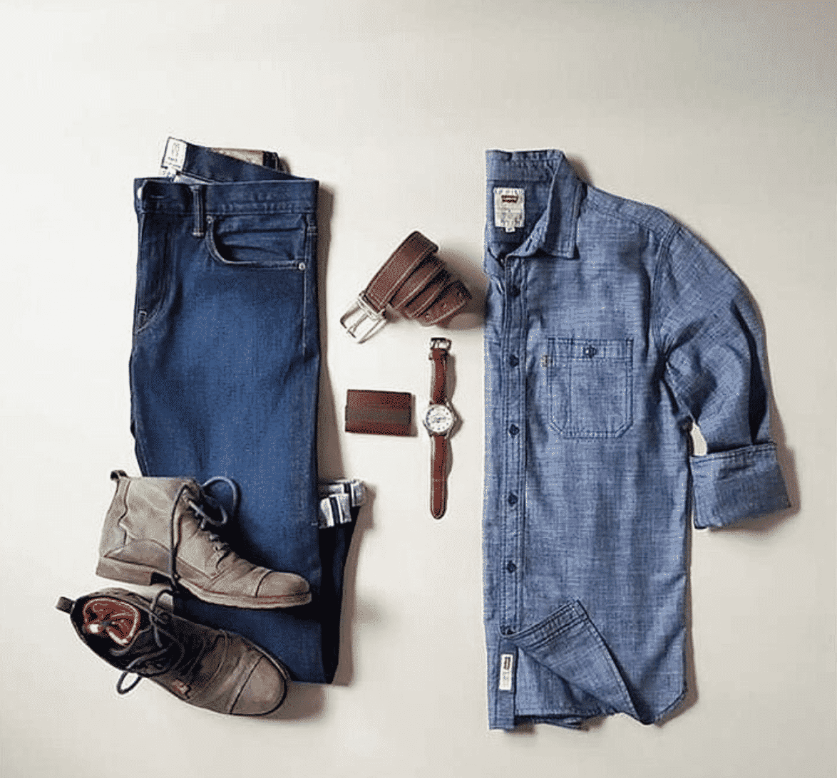 men-outfits-with-blue-jeans Men Outfits with Jeans-30 Best Combinations with Jeans for Guys