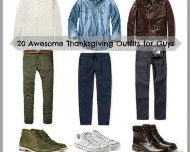 what to wear on thanksgiving for guys