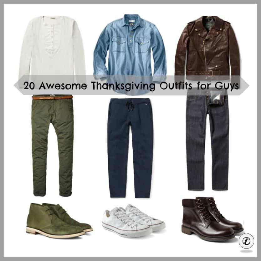 men-thanksgiving-outfits 2018 Men's Thanksgiving Outfits-30 Ways to Dress on Thanksgiving