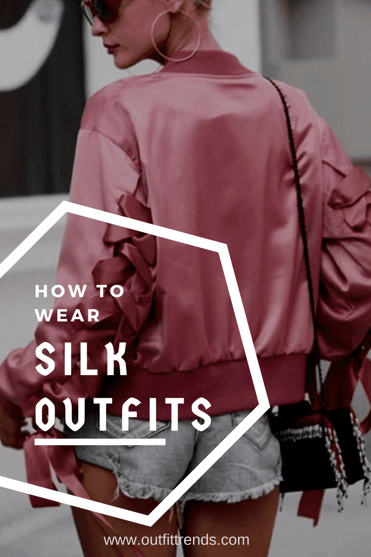 silk-outfits Women's Silk Outfit Ideas-23 Best Ways to Style Silk Outfits