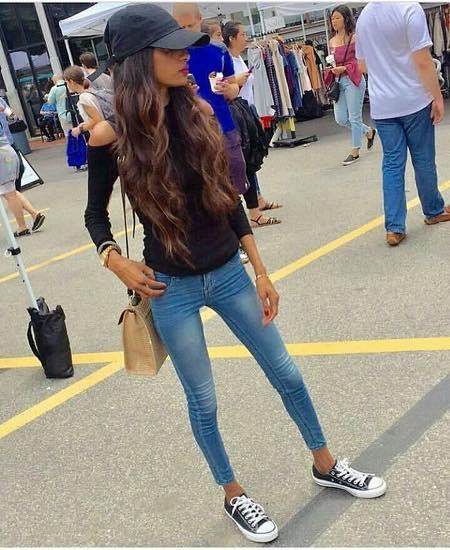 skinny-girls-outfits 30 Ideal Shoes to Wear With Skinny Jeans To Rock Your Outfit