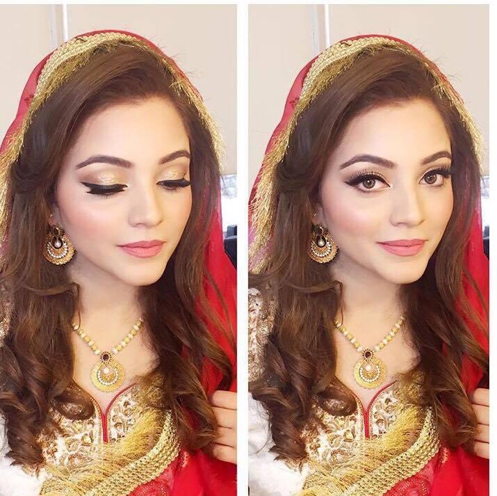 wedding-makeup-ideas-for-pakistani-brides 10 Most Stylish Pakistani Bridal Dresses for This Season