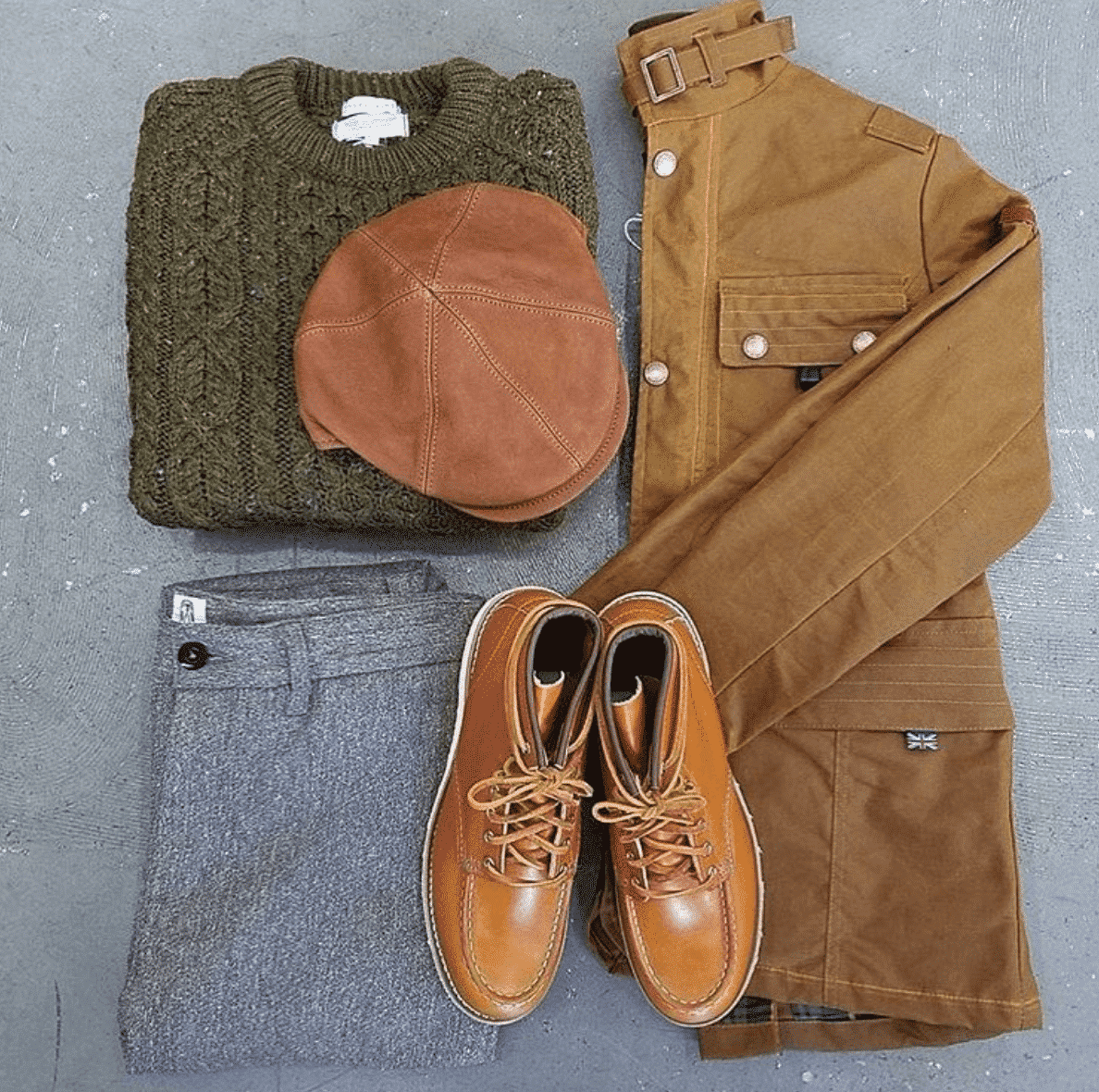winter-outfits-for-men Brown Boots Outfit for Men-30 Ways to wear Brown Boots