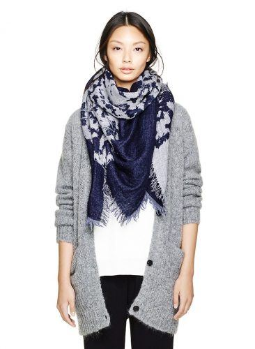 Allure-Style-Winter-Scarf--366x500 Outfits with Scarves - 26 Ways to Wear a Scarf this Winter
