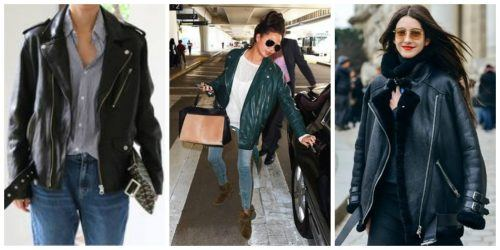 Enormous-Leather-Jackets-500x250 Oversized Styles- 30 Ideas on How to Wear Oversized Clothes