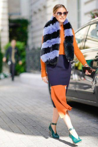 Fuzzy-Scarves-333x500 Outfits with Scarves - 26 Ways to Wear a Scarf this Winter