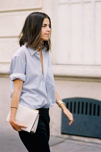 Large-Button-Down-Shirts-333x500 Oversized Styles- 30 Ideas on How to Wear Oversized Clothes