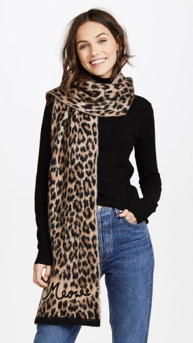 Leopard-Prints-Scarves-282x500 Outfits with Scarves - 26 Ways to Wear a Scarf this Winter