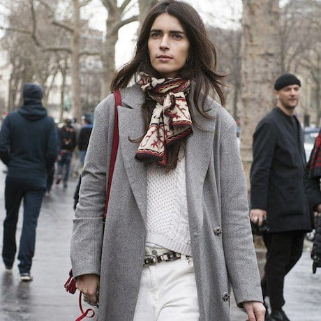 Parisian-Knots-are-Forever-Favorite Outfits with Scarves - 26 Ways to Wear a Scarf this Winter