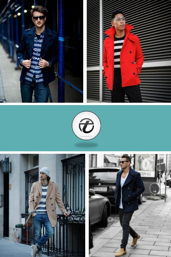 Peacoat-Men-Outfits Men Peacoat Outfits – 20 Ways to Wear a Peacoats for Guys