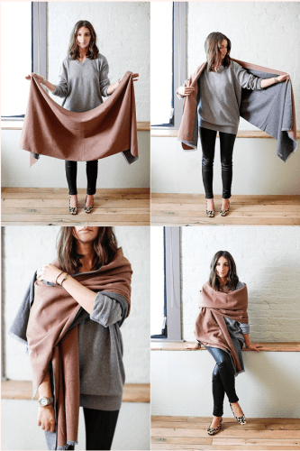 X-Press-Scarves-for-Fall-333x500 Outfits with Scarves - 26 Ways to Wear a Scarf this Winter