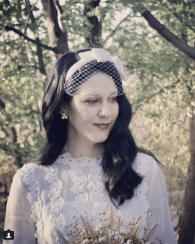 Birdcage-Veils-with-Bows-400x500 Bridal Birdcage Veil- 20 Best Ideas on How to Wear Cage Veil