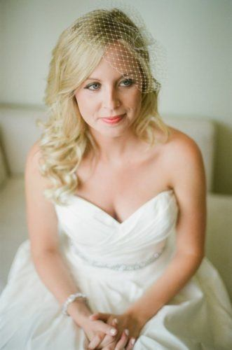 Blusher-Veils-331x500 Bridal Birdcage Veil- 20 Best Ideas on How to Wear Cage Veil
