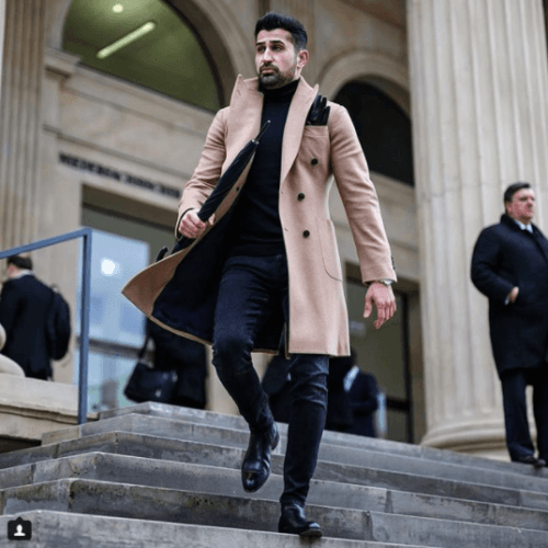 Formal-Attire-with-Turtle-Neck-Knits-500x500 Guys Formal Style - 19 Best Formal Outfit Ideas for Men