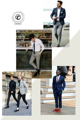 Formal-Look-with-Cropped-Pants-333x500 Guys Formal Style - 19 Best Formal Outfit Ideas for Men