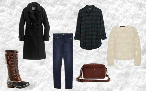 How-to-Layer-Collar-Top-for-Traveling-500x313 27 Best Winter Travel Outfits for Women Trending these Days