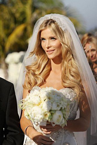 How-to-Wear-a-Cage-Veil-with-Long-Hair-333x500 Bridal Birdcage Veil- 20 Best Ideas on How to Wear Cage Veil