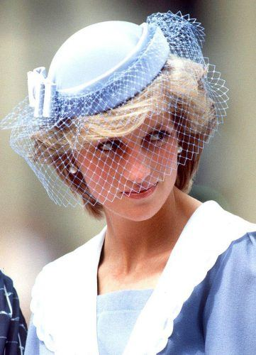 Lady-Diana-Inspired-Cage-Veil-361x500 Bridal Birdcage Veil- 20 Best Ideas on How to Wear Cage Veil