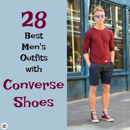 Outfits-with-Converse-Shoes-500x500 28 Best Ideas on How to Wear Converse Shoes for Guys