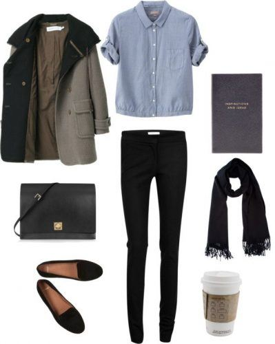 Parisian-Winter-Travel-Look-399x500 27 Best Winter Travel Outfits for Women Trending these Days