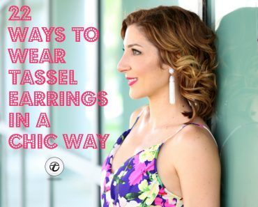 Tassel Earrings Style