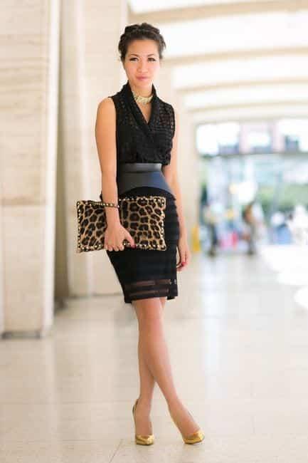 Women-Metallics23 26 Best Ideas on How To Wear Metallic Outfits For Girls
