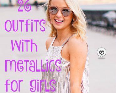 metallics for girls