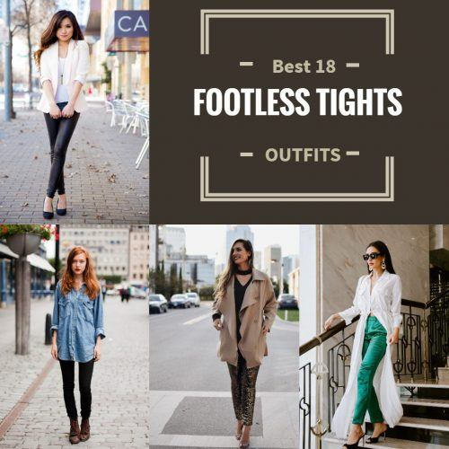 Best-18-Footless-tights-outfits-500x500 Footless Tights Outfits–18 Ideas How to Wear Footless Tights