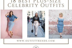 celebrities plus size outfits