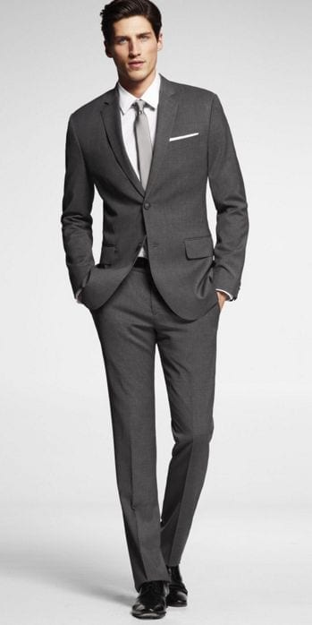 Best Shoes For Charcoal Suit